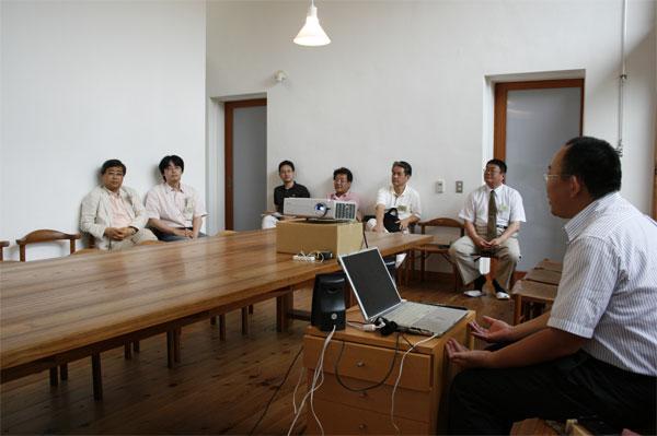 工務店さんを対象とした「住まい教室の開き方講座」。