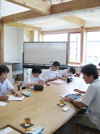 附属浜松中 総合学習の様子