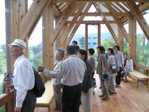 2009年9月18日、掛川市・大東生活学校の方14名が地球のたまごにいらっしゃいました。