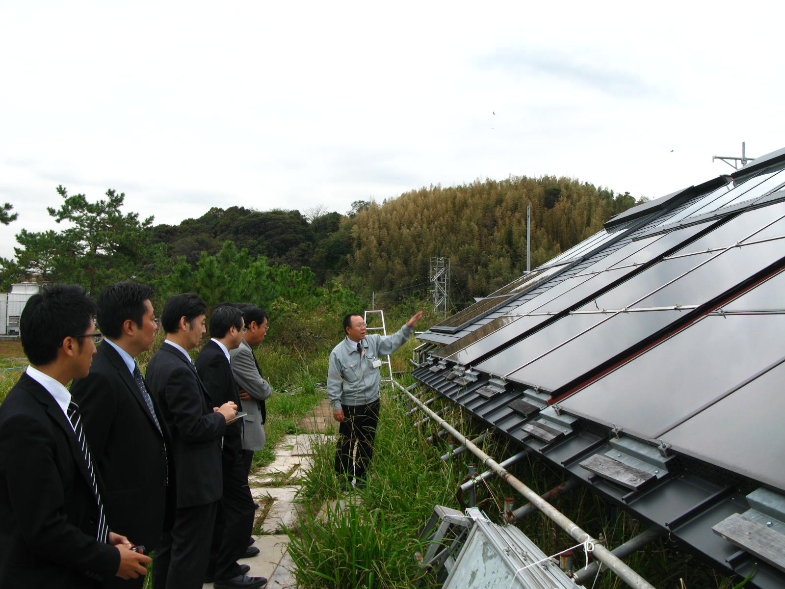 日本電機工業会の皆さん。