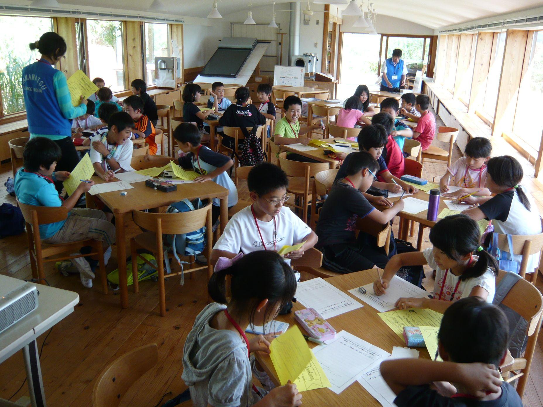 浜松市内の小中学生2